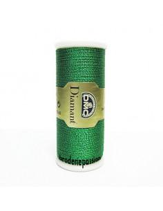 Fil à broder Diamant de DMC - coloris vert émeraude D699
