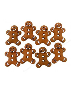 Lot de boutons Dress It Up - Iced Cookies