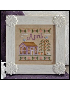 Country Cottage Needleworks - April Cottage