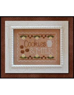 Country Cottage Needleworks - Cookies & Milk