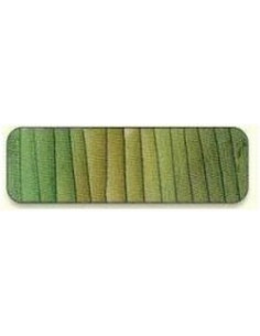 Di van Niekerk - Ruban de soie 7 mm - 17 - Slate Green & Bis