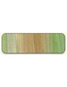 Di van Niekerk - Ruban de soie 7 mm - 18 - Slate Green & Bei