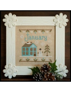 Country Cottage Needleworks - January Cottage