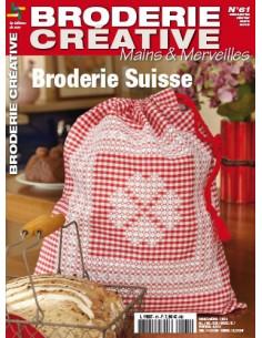 Mains et Merveilles - Broderie Créative 61 - Broderie Suisse
