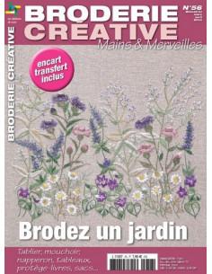 Mains et Merveilles - Broderie Créative 56 - Brodez un jardin