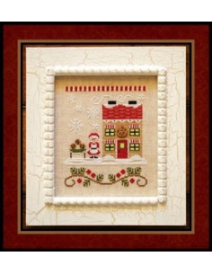 Country Cottage Needleworks - Mrs. Claus Cookies Shop