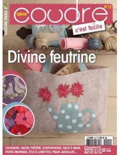 Magazine - Coudre c'est facile n°12 - Divine feutrine