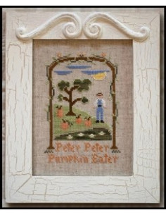 Country Cottage Needleworks - Peter Peter Pumpkin Eater