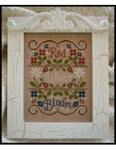 Country Cottage Needleworks - Red, White and Bloom