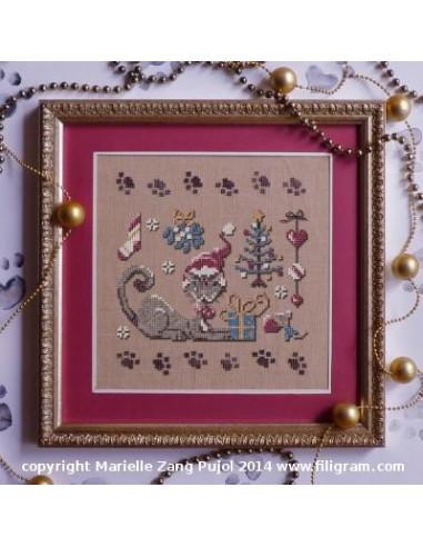 Filigram - fiche - Un Noël de chat