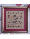Filigram - fiche - Un chat au jardin