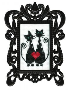 RTO - Kit point de croix - Framed art FA004