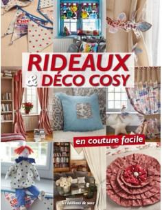 Livre - Rideaux & Déco cosy en couture facile
