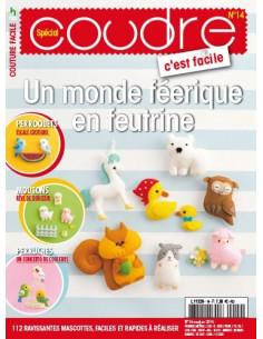 Magazine - Coudre c'est facile Spécial 14 - Un monde féerique en feutrine