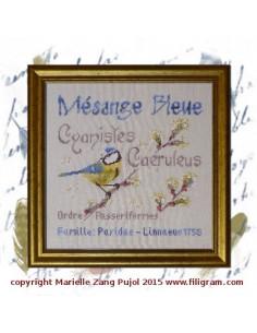 Filigram - fiche - Mésange Bleue
