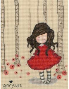 Bothy Threads - Kit - Gorjuss Poppy Wood