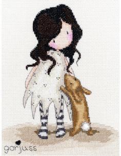 Bothy Threads - Kit - Gorjuss I Love You Little Rabbit