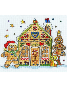 Bothy Threads - Kit - Sew Dinky Gingerbread House