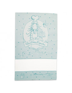 Graziano - Linge/torchon - Christmas Cake - turquoise