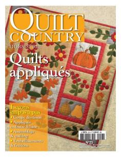 Magazine - Quilt Country HS - Quilts appliqués