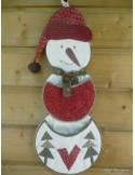 L'Atelier des coeurs - fiche - Vide-poches bonhomme de neige