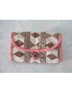 Sarahpatch - Pochette Meshwork jardin secret
