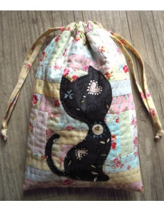 Sarahpatch - Pochette Chat