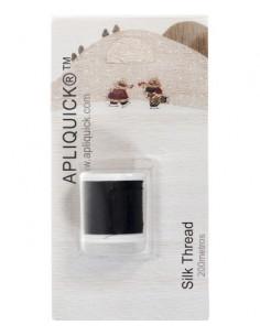 APLIQUICK ®™ - Fil de soie - noir - 200 mètres