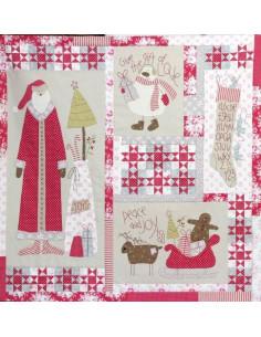 Fiche de Patchwork - Christmas Blessings