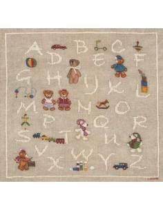 Le Bonheur des Dames - Kit - ABC ours et jouets