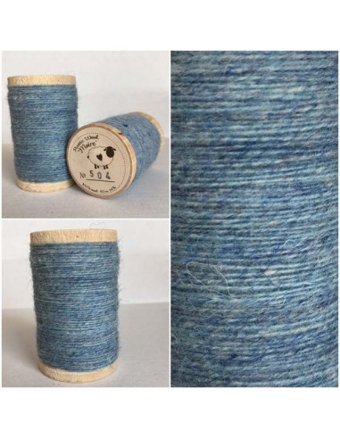 fil de laine rustic wool moire 504 broderie passion. Black Bedroom Furniture Sets. Home Design Ideas