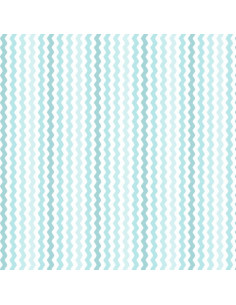 Coupon Fat Quarter - serpentin - turquoise