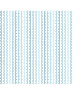 Coupon Fat Quarter - serpentin - bleu