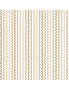 Coupon Fat Quarter - serpentin - taupe
