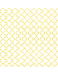 Coupon Fat Quarter - geo - jaune
