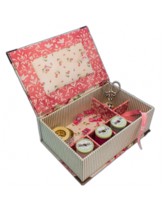 box making kit cardboard cut broderie passion On kit boite a couture