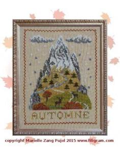 Filigram - fiche - Montagne d'automne