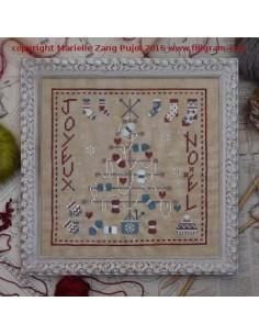 Filigram - fiche - Arbre de Noël au tricot