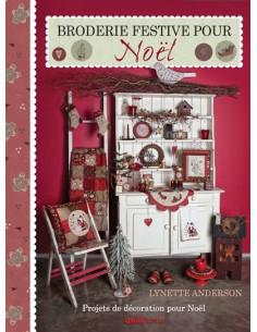 Livre - Broderie festive pour Noël