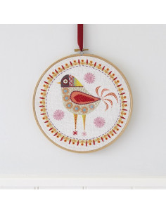 Nancy Nicholson - Birdie 4 - Kit de broderie traditionnelle