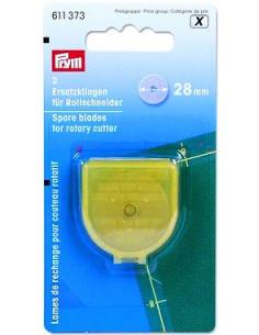 Prym - Lames de rechange pour cutter rotatif - 28 mm