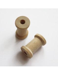 Mini bobine en bois de 2,3 cm