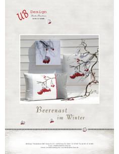 UB Design - Cross stitch pattern - Beerenast im Winter