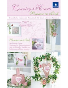 Brochure acufactum ``Country-Hearts Sommer in Pink``