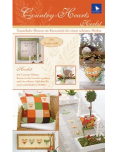 Brochure acufactum Country-Hearts ``Herbst``