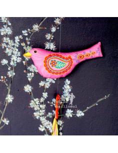 Odile Bailloeul - Sewing kit - Embroidered bird