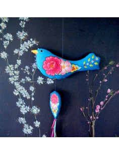 Odile Bailloeul - Sewing kit - Flowery bird