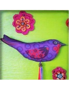 Odile Bailloeul - kit à coudre - L'oiseau gipsy