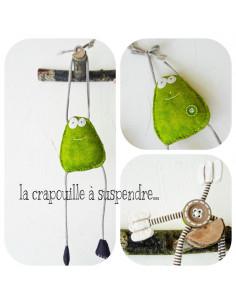 L'Atelier d'Éole - La crapouille à suspendre - kit de couture