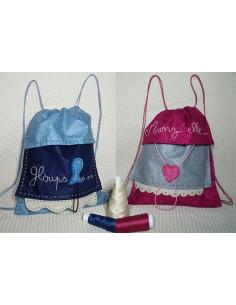 L'Atelier d'Éole - Le petit sac à dos - kit de couture